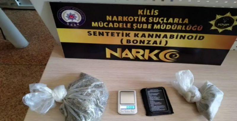 Kilis ve Gaziantep'te uyuşturucu operasyonuna 7 tutuklama