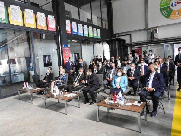 GSO Model Fabrika Yetkinlik ve Dijital Dönüşüm Merkezi tanıtıldı