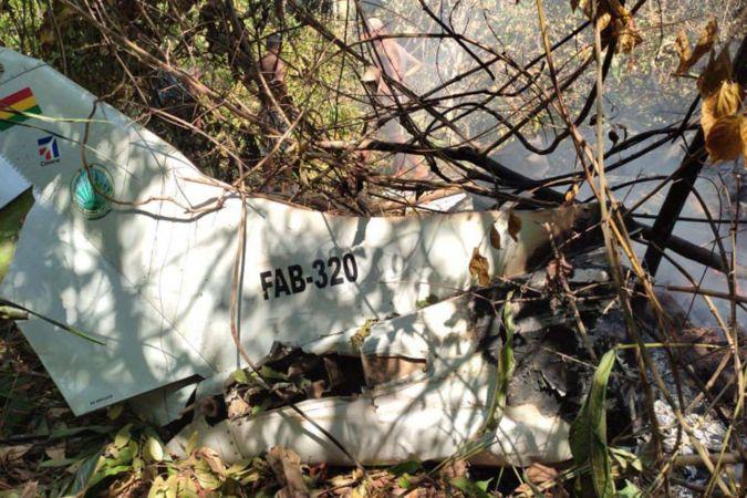 Bolivya ordusuna ait uçak düştü: 6 ölü