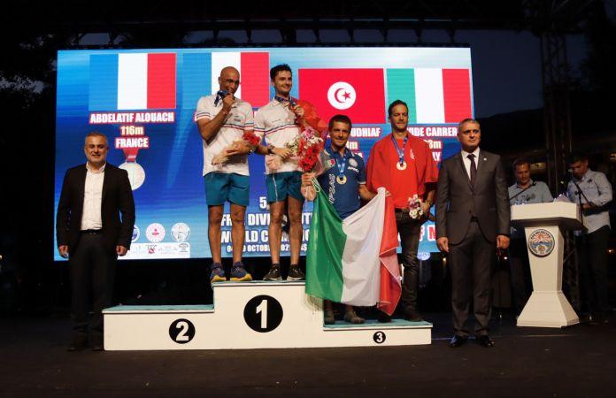 Serbest Dalış Outdoor Dünya Şampiyonası sona erdi