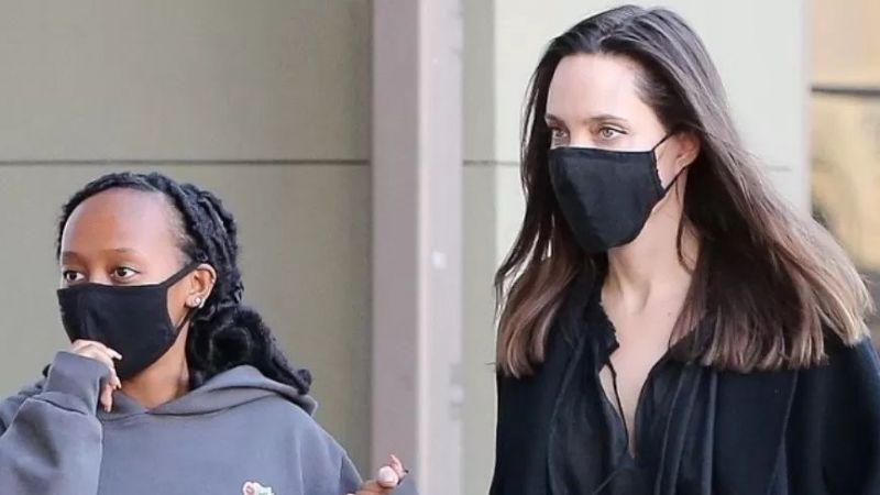 Angelina Jolie, kızı Zakhara ile alışverişe çıktı. Yeni fotoğraflar!