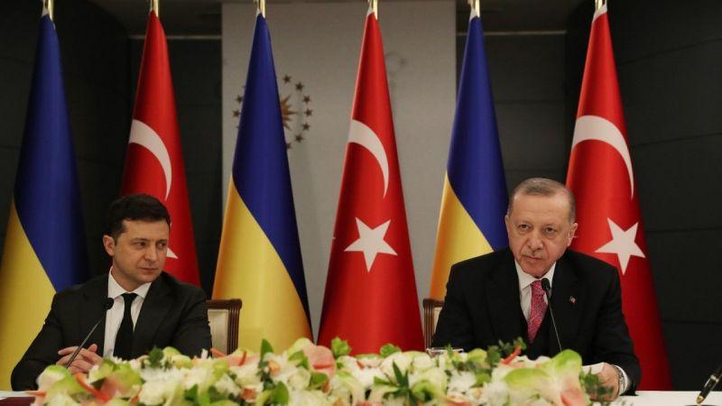 """Cumhurbaşkanı Erdoğan: """"Mevcut krizin Ukrayna'nın toprak bütünlüğü temelinde diplomatik yöntemlerle çözülmesi gerektiğini inanıyoruz"""""""