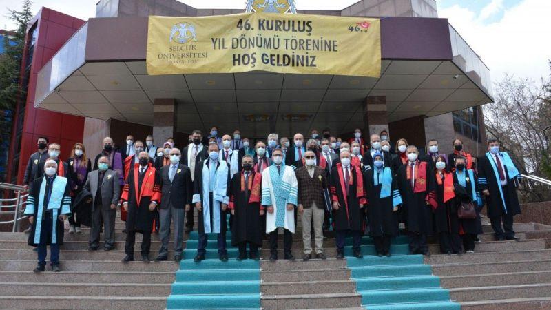 Selçuk Üniversitesi 46 yaşında