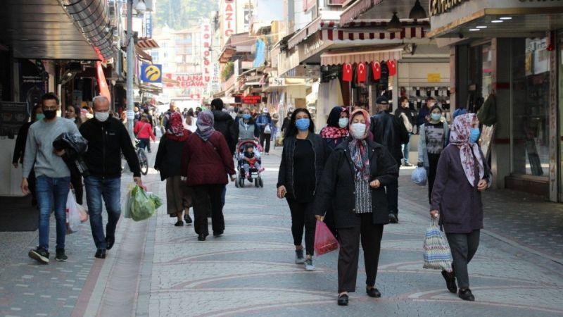 Aydın'da bir haftada 2 bin 503 vaka görüldü