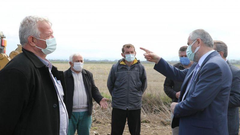 """Başkan Kılıç: """"Beton santrali Bafra için ciddi bir kazanım olacak"""""""