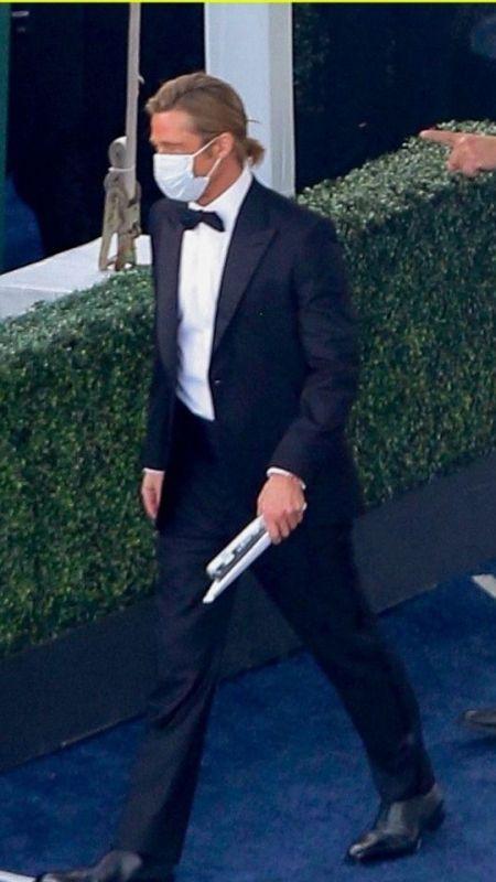 Brad Pitt'in yeni saç modeli sosyal medyayı salladı