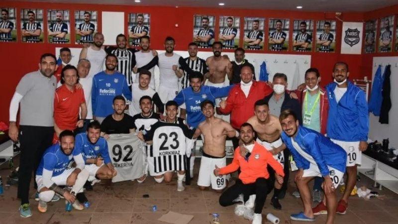 Nazilli Belediyespor şampiyon olarak 2'inci lige yükseldi