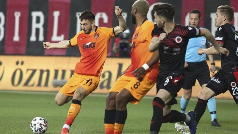 Halil Dervişoğlu ilk golünü attı