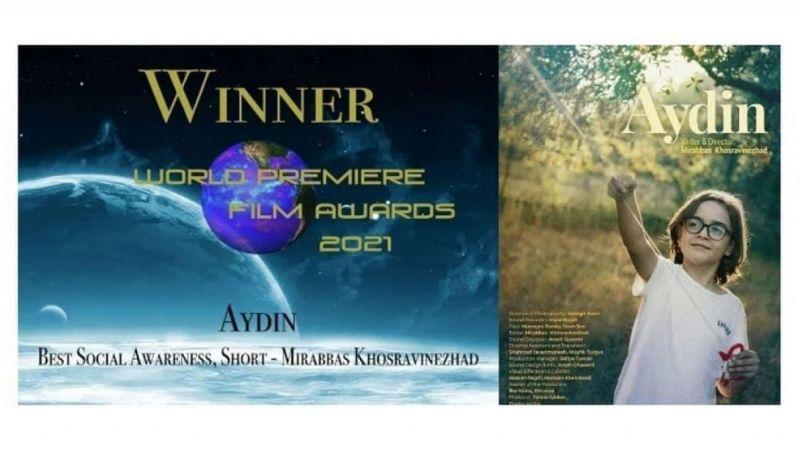 """""""Aydın"""" filmine uluslararası ödül"""
