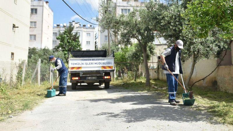 Yüreğir'de sokak sokak bayram temizliği