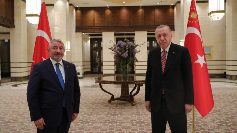 Başkan Aşgın, Cumhurbaşkanı Erdoğan ile görüştü