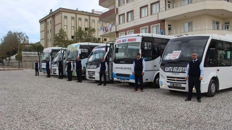 Kahta'da sınav günü toplu taşıma ücretsiz