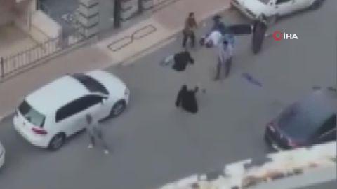 Şanlıurfa'da dehşete düşüren görüntüler: Otomobille defalarca üzerlerinden geçti