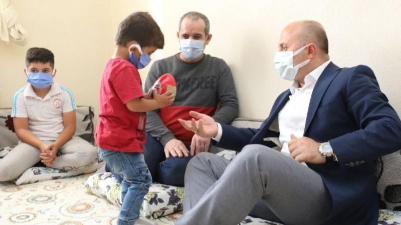 Ağrı Valisi Varol'dan Ülkeköle ailesine ziyaret