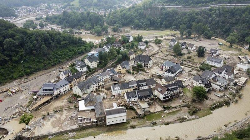 Sel felaketini yaşayan Avrupa'da can kaybı 168'e yükseldi