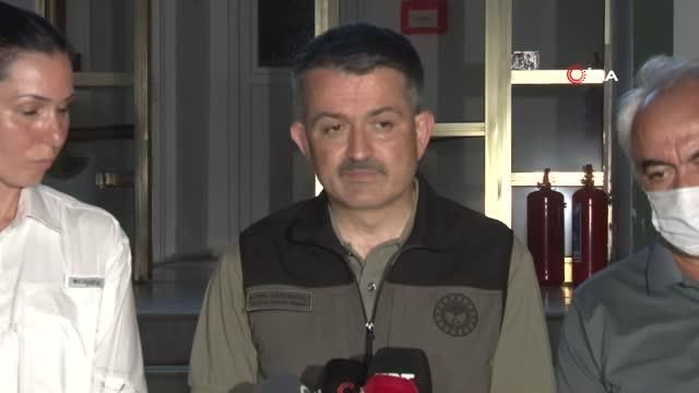 """Tarım ve Orman Bakanı Bekir Pakdemirli: """"Şu anda devam eden 8 yangın var"""""""