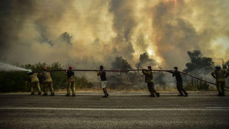 """Bakan Bilgin: """"Orman yangınlarından etkilenenlerin sosyal güvenlik prim borçlarını erteliyoruz"""""""