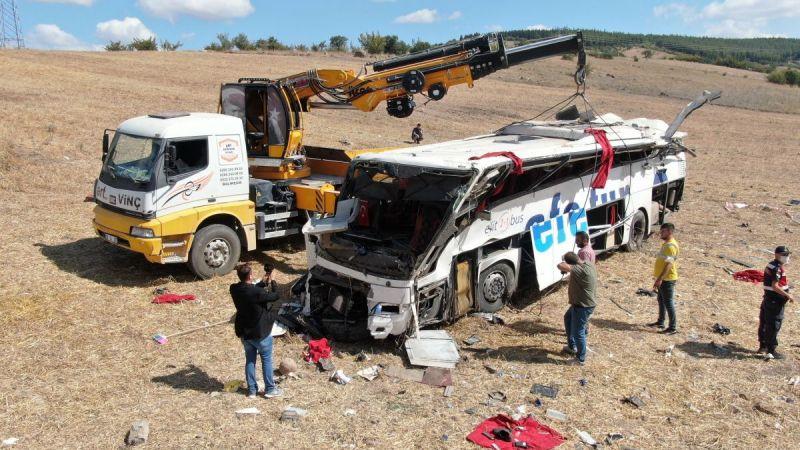 Balıkesir'deki kazada hayatını kaybedenlerin isimleri belirlendi