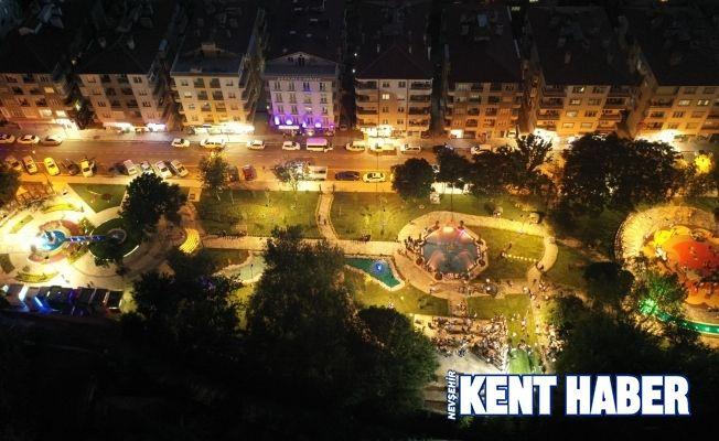 Yenilenen Nejdet Ersan Parkı göz kamaştırdı
