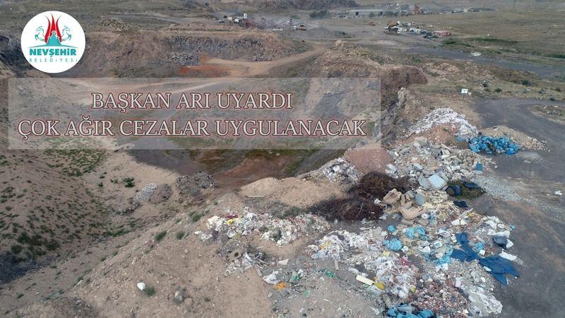Çevreyi kirletenlere af yok