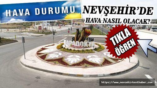 Dikkat! Nevşehir için sağanak tahmini...