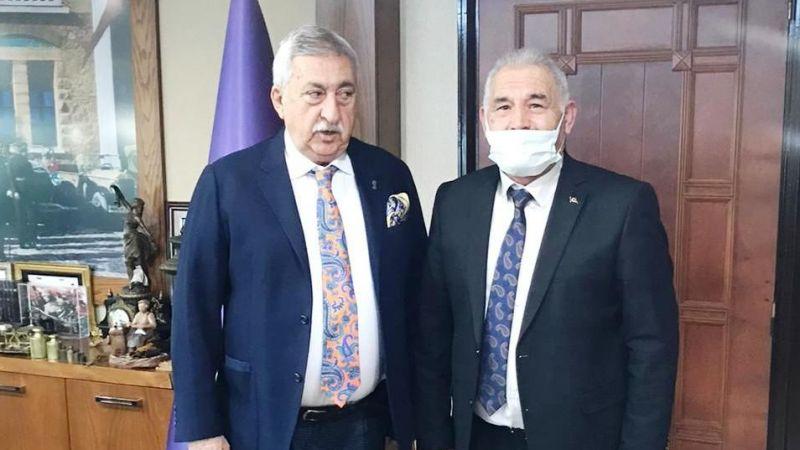 Birlik Başkanı Pınarbaşı Palandöken'i ziyaret etti