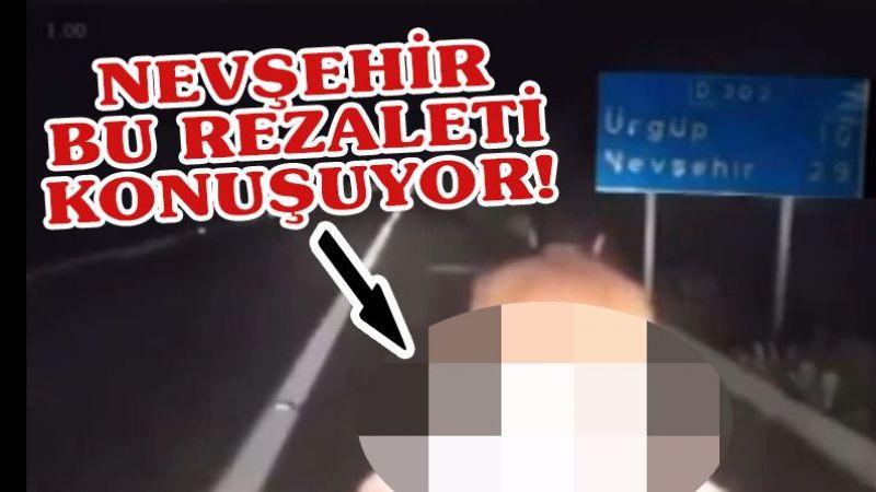 Nevşehir'de rezalet!