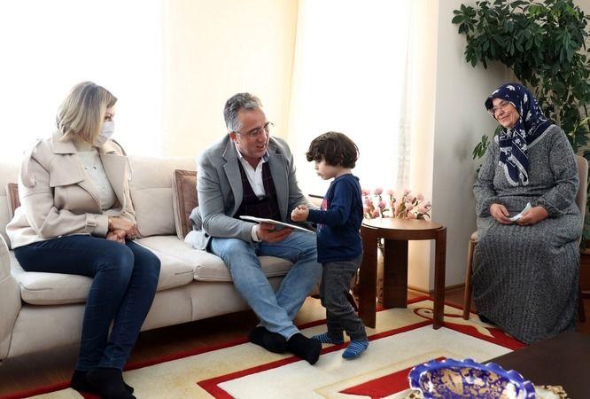Başkan Savran ve eşi dua istedi