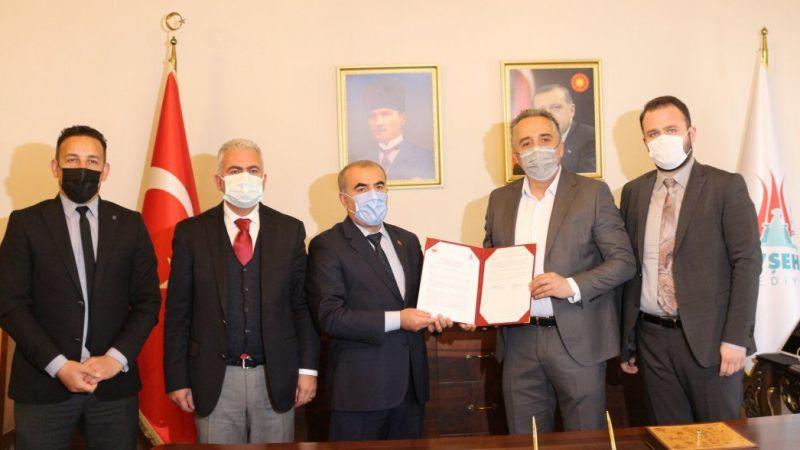 Belediye ve MEM imzaları attı