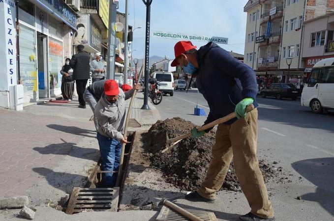 Gülşehir'de mazgal temizliği yapıldı