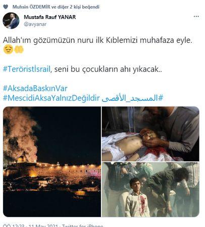 Nevşehir'den İsrail'e tepki!