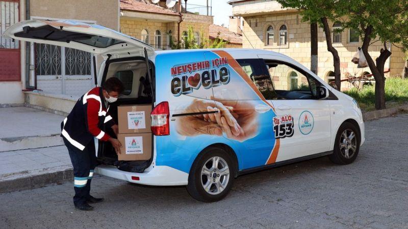 Nevşehir Belediyesi 10 bin ekmek fişi dağıttı