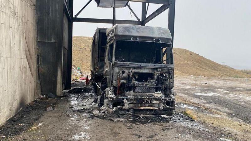 İYİ Parti ve CHP yanan tır için harekete geçti