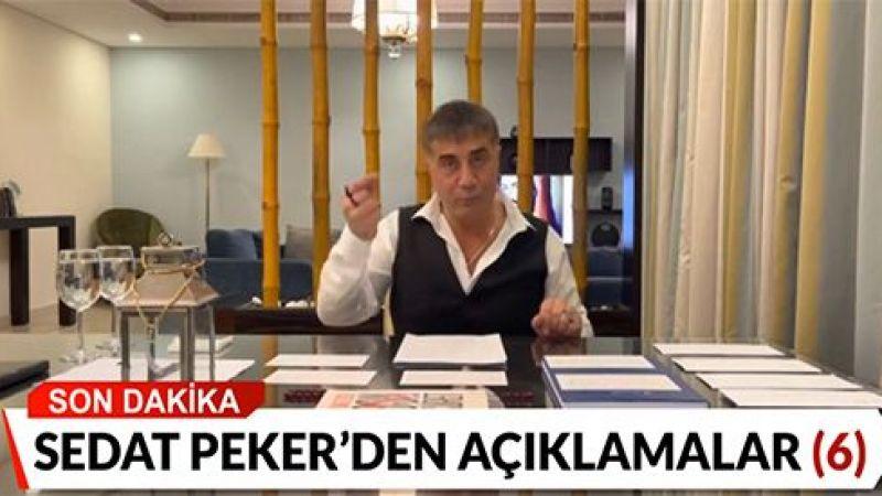 Sedat Peker konuşulmaya devam ediyor