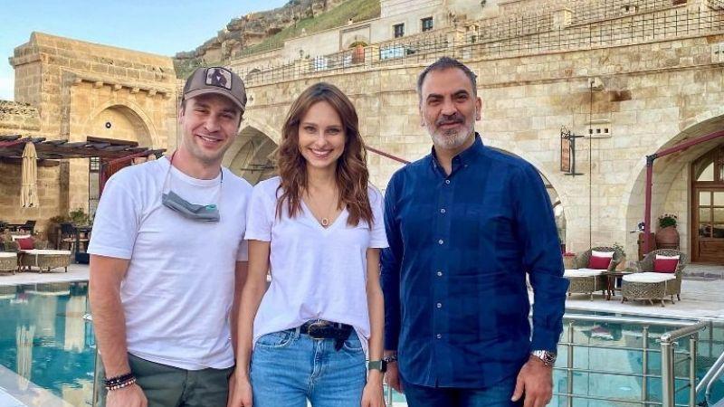 'Maria ile Mustafa'dizisinin Maria'sı Kapadokya'da