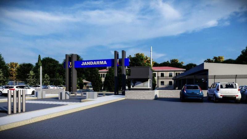 Kozaklı 'da Jandarma taşınıyor