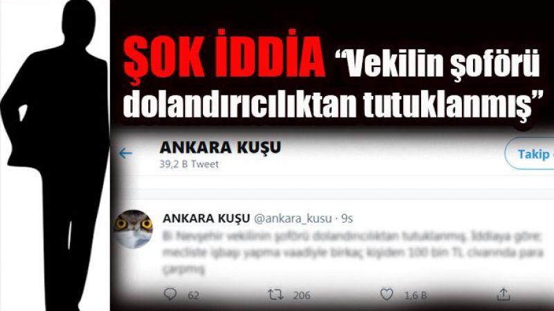 Ankara Nevşehir'i konuşuyor