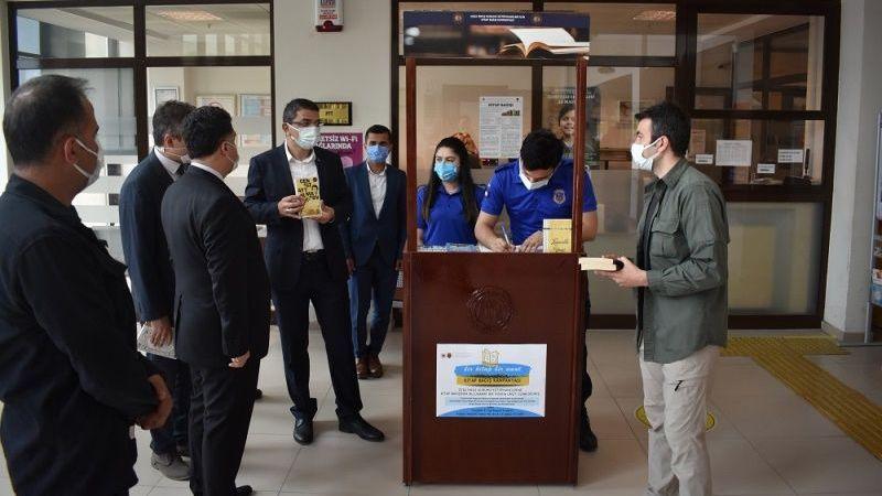 Nevşehir cezaevine kitap kampanyası başladı