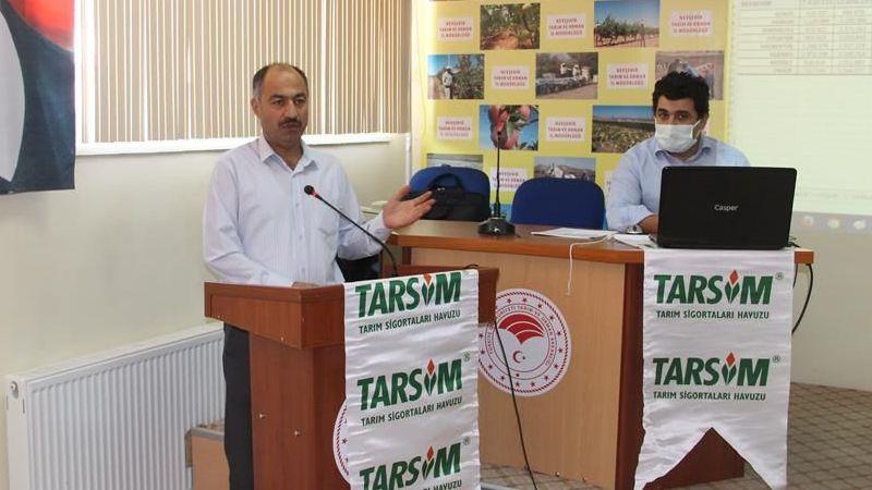 Nevşehir'de TARSİM anlatıldı