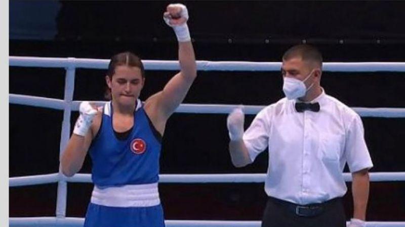 Nevşehir'in gururu Esra Yıldız bugün ringe çıkacak