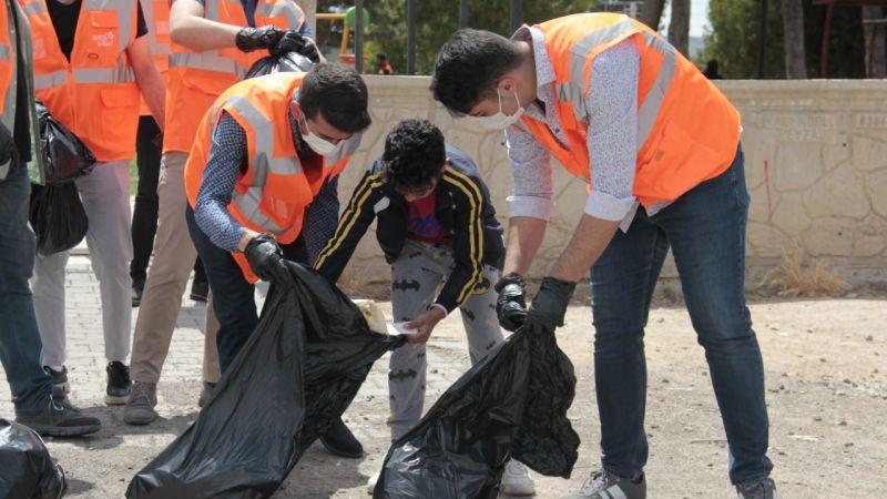 Ak Parti Gençlik Kolları çevre temizliği yaptı