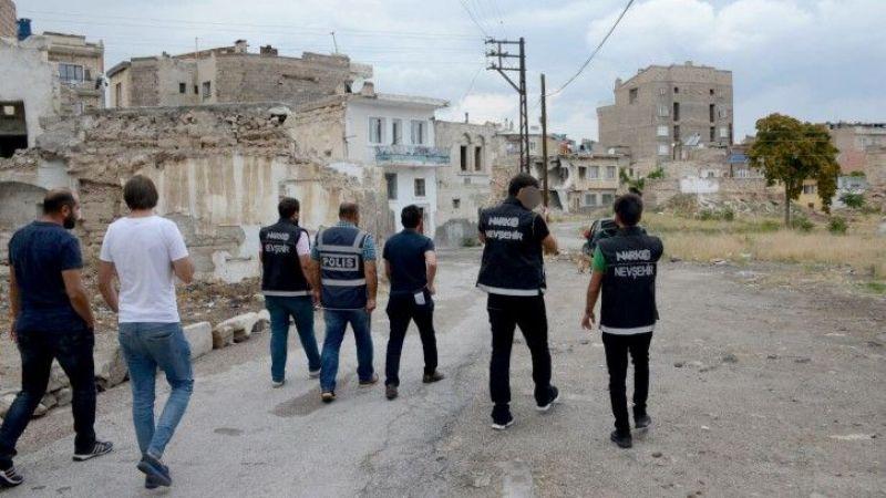 Zehir tacirlerine sokak operasyonu yapıldı