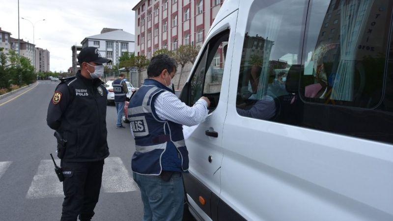 Nevşehir'de 275 araç denetlendi