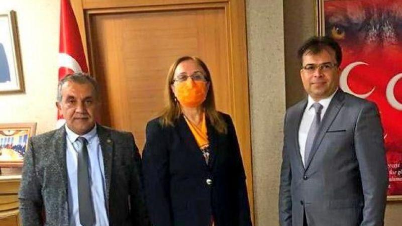 MHP heyetinden Filiz Kılıç'a ziyaret