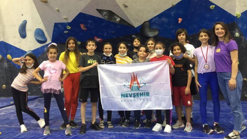Nevşehirli sporcu Türkiye 3.'sü oldu