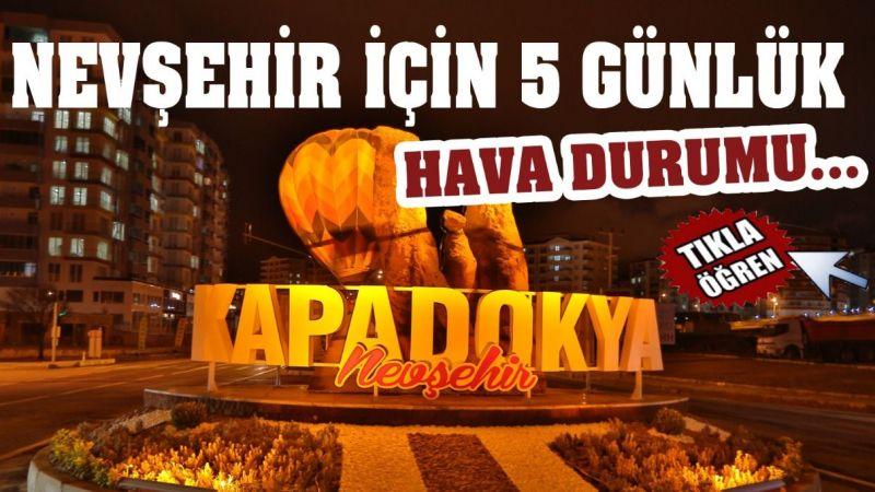 Dikkat! Nevşehir sıcaktan kavrulacak!