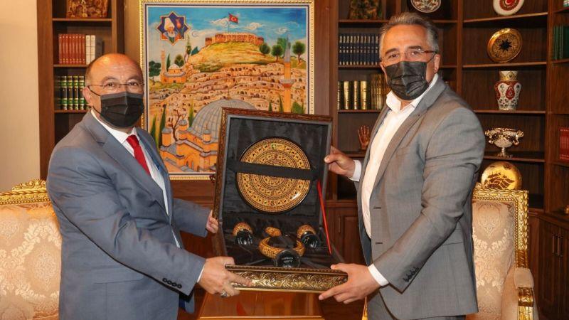 TÜBİTAK Projesi Başkan Savran'a sunuldu