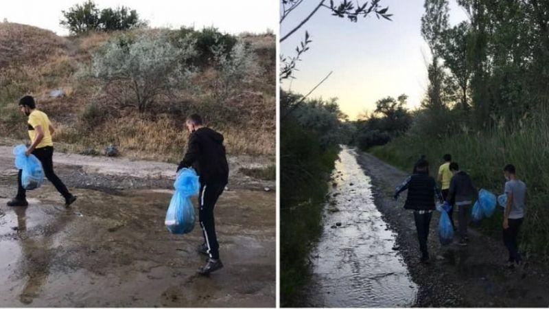 Ürgüp Ülkü Ocakları çevre temizliği yaptı