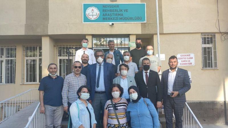 Nevşehir'de eğitimciler Türk Eğitim Sen dedi