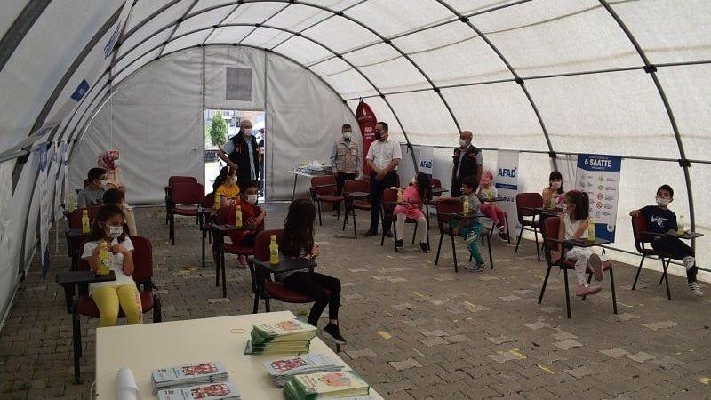 AFAD'tan çocuklara eğitim